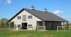 metal buildings - horse barns