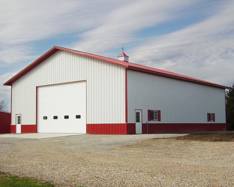 Custom farm and ranch pole barns in colorado for Pole building photos