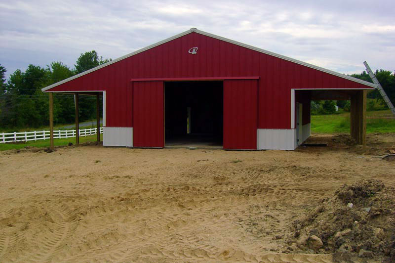 Show cattle barn designs related keywords show cattle for Dairy barn plans