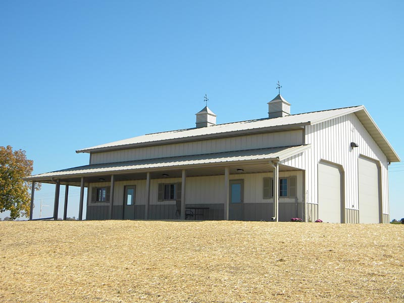 Pics of pole barns with living quarters joy studio for Pole barn with living quarters prices