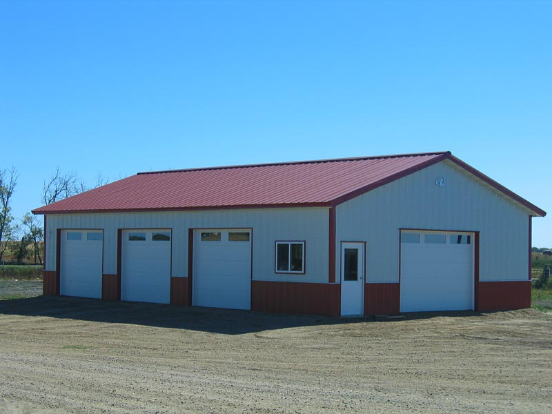 Colorado pole barns for garages sheds hobby buildings for 30x50 pole barn
