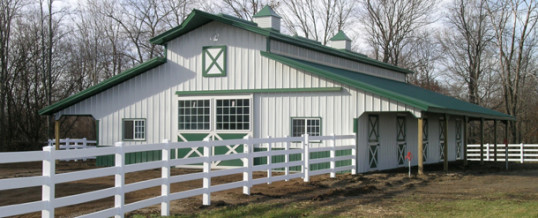 Forget Dank Air: Build Horse Stables with Proper Ventilation