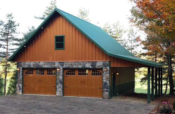 Colorado garages to extend hobby time thru cold months for Cost to build your own garage