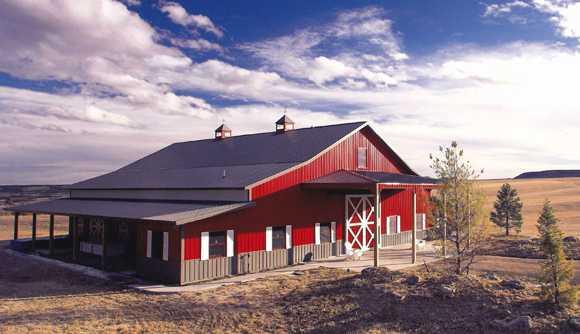 equestrian buildings simple or elaborate With barn builders colorado