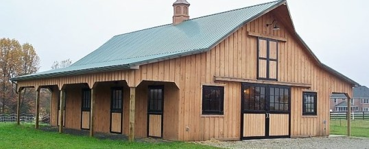 Why Call Sapphire Construction for Your Horse Buildings?