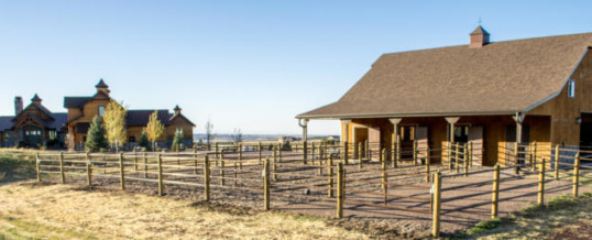 How to Harmonize a Horse Barn and House on the Front Range