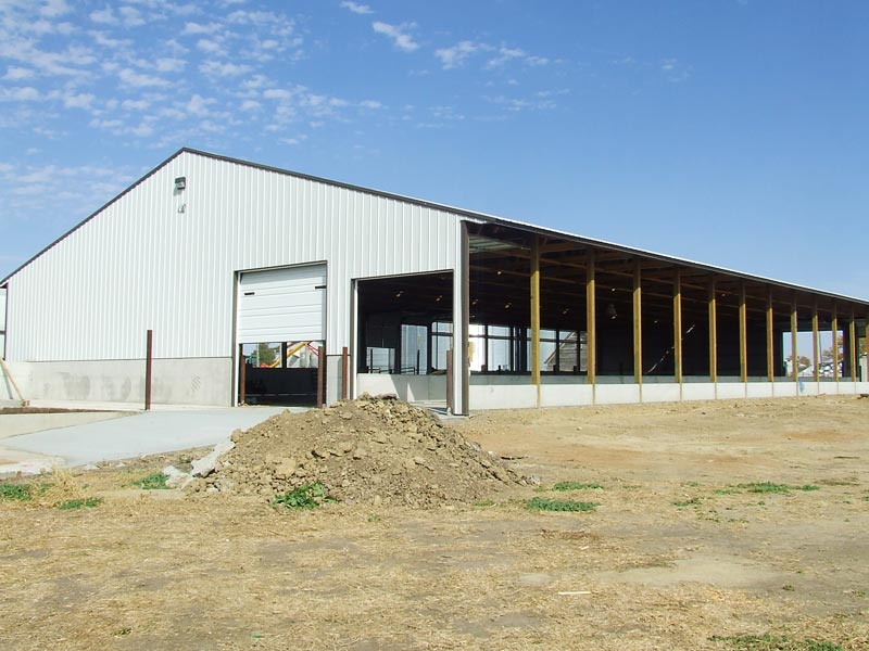 Colorado Beef Cattle Barn