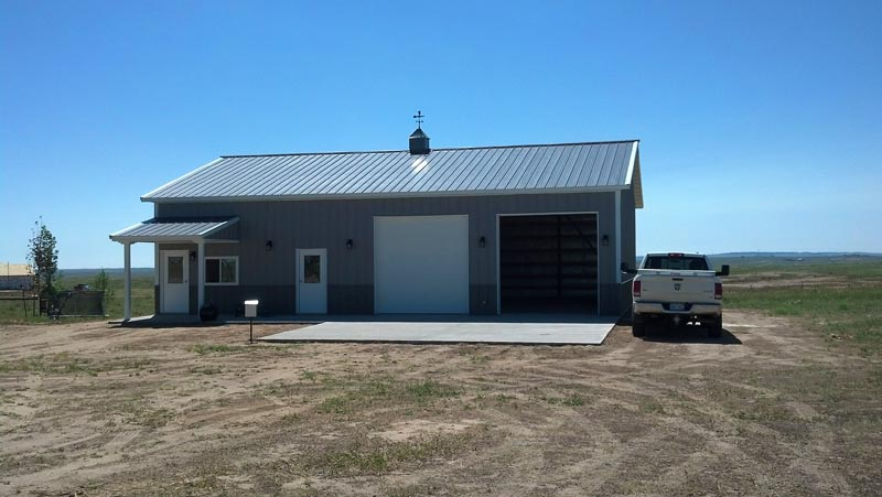New Post and Frame Commercial Buildings in Colorado