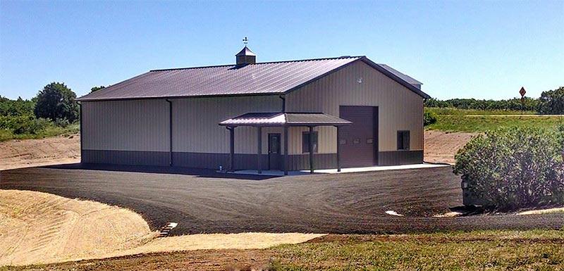 Custom colorado pole barns in castle rock for Custom pole barn homes