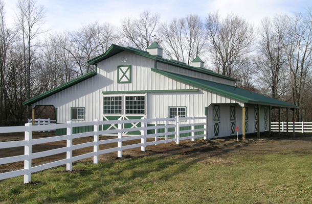 How To Pretty Up Colorado Steel Buildings
