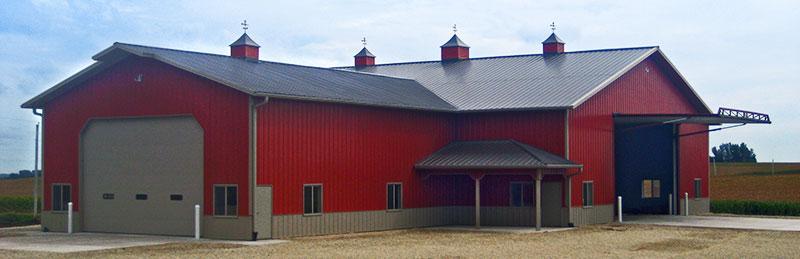 The Tough Open Span Pole Barns Colorado Loves
