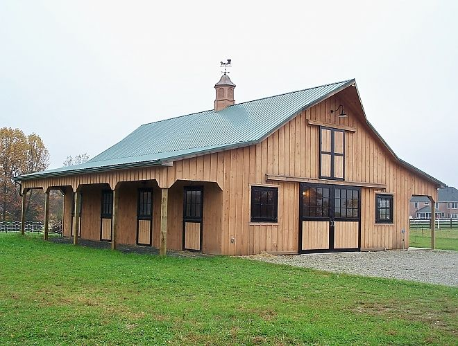 Pole Barns Customized For Your Lifestyle