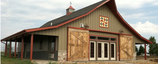 A Simple But Sassy Small Cattle Barn For Your Little Colorado Farm