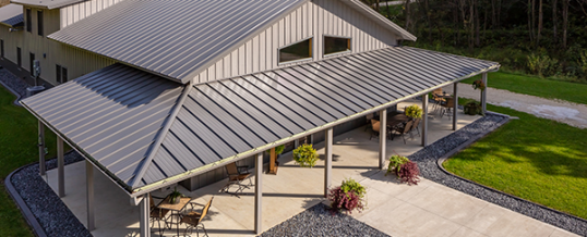 Metal Roofing In The New Era Of Post Frame Home Design